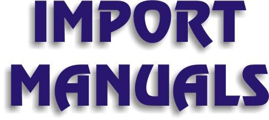 Import Manuals