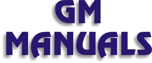 GM Manuals