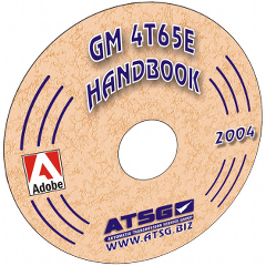 ATSG 4T65E Update Handbook Mini CD