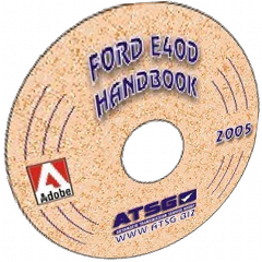 ATSG E4OD Update Handbook Mini CD