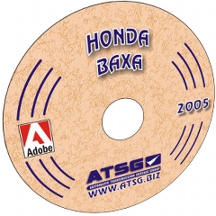 ATSG Honda Accord BAXA Prelude M6HA Mini CD