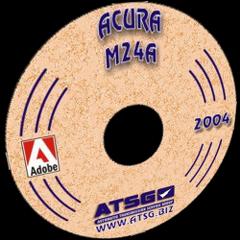 ATSG Honda Civic 3 Shaft M24A MINI CD
