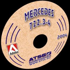ATSG Mercedes 722.3 - 722.4 mini CD