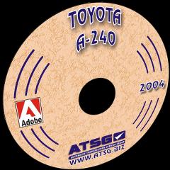 ATSG TOYOTA A240 CD