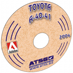 ATSG Toyota A43D (A40) Mini CD