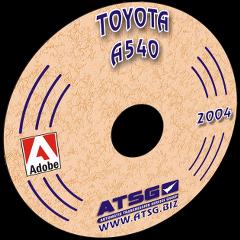 ATSG Toyota A540 Mini CD