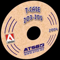 ATSG TRANSFER CASE 203-205 CD