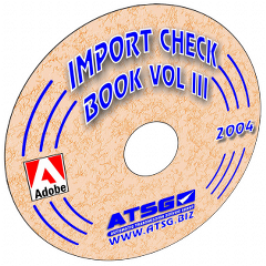 ATSG Import Checkball Book Volume III Mini CD