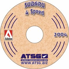 Subaru 4 Speed CD