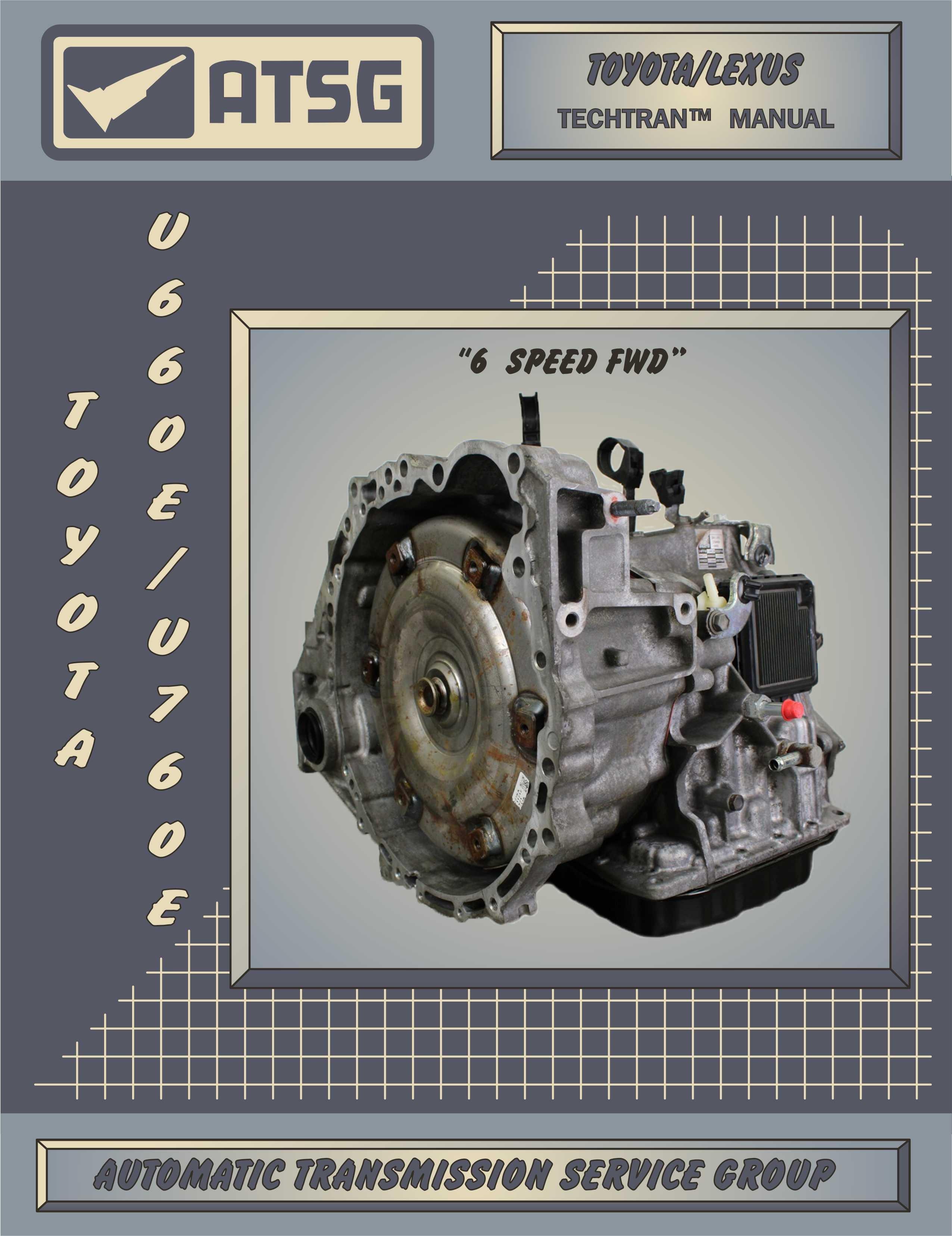ATSG Toyota U660E