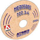 ATSG Mercedes 722.3 - 722.4 mini CD