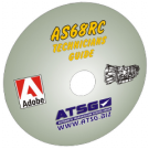 ATSG AS68RC Technician Guide Mini CD