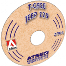 ATSG TRANSFER CASE JEEP 229 CD