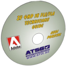 ATSG ZF4HP-18 FLE & FLA Technicians Diagnostic Guide Mini CD