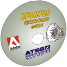 ATSG ZF6HP26 Technician Guide Mini CD