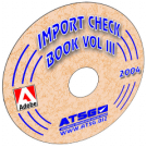 ATSG Import Checkball Book Volume III Mini CD