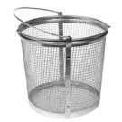 "PARTS WASHER ACCESSORY MESH BASKET 8.5"" X 9"" ROUND PART# T-0175-R"