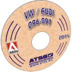 ATSG VW Audi 096-097 Mini CD
