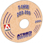 ATSG TRANSFER CASE 203-205 CD