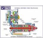 GM 4T40-E 18 X 24 Color Cutaway Poster