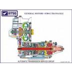 GM 4T80-E 18 X 24 Color Cutaway Poster