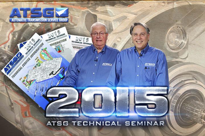 2015 ATSG Technical Seminar with Wayne Colonna & Peter Luban