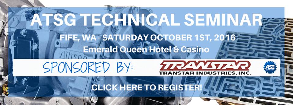 ATSG Fife, WA Technical Seminar - Transtar