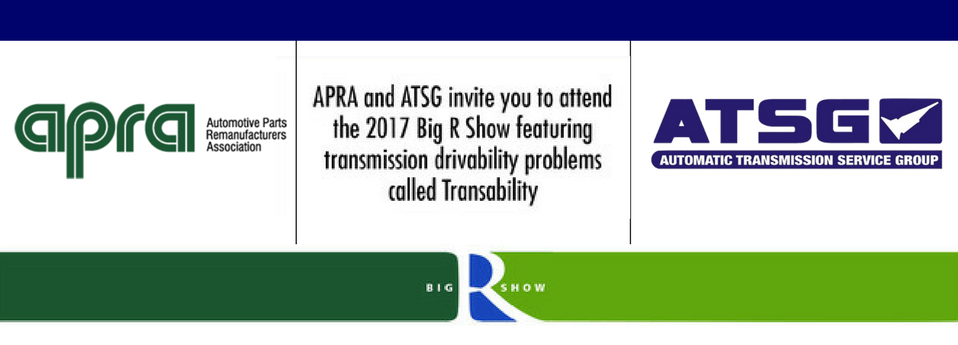 APRA - ATSG The Big R Show in Vegas!