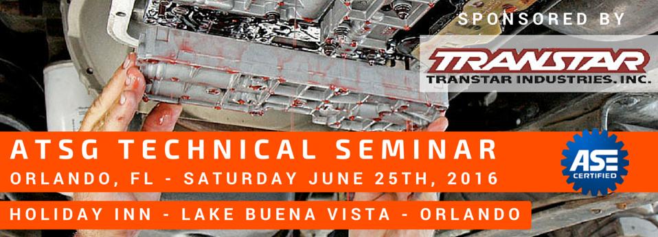 ATSG Orlando Technical Seminar - Transtar