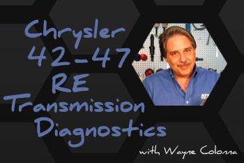 ATSG Chrysler 42-47RE Transmision Diagnostics
