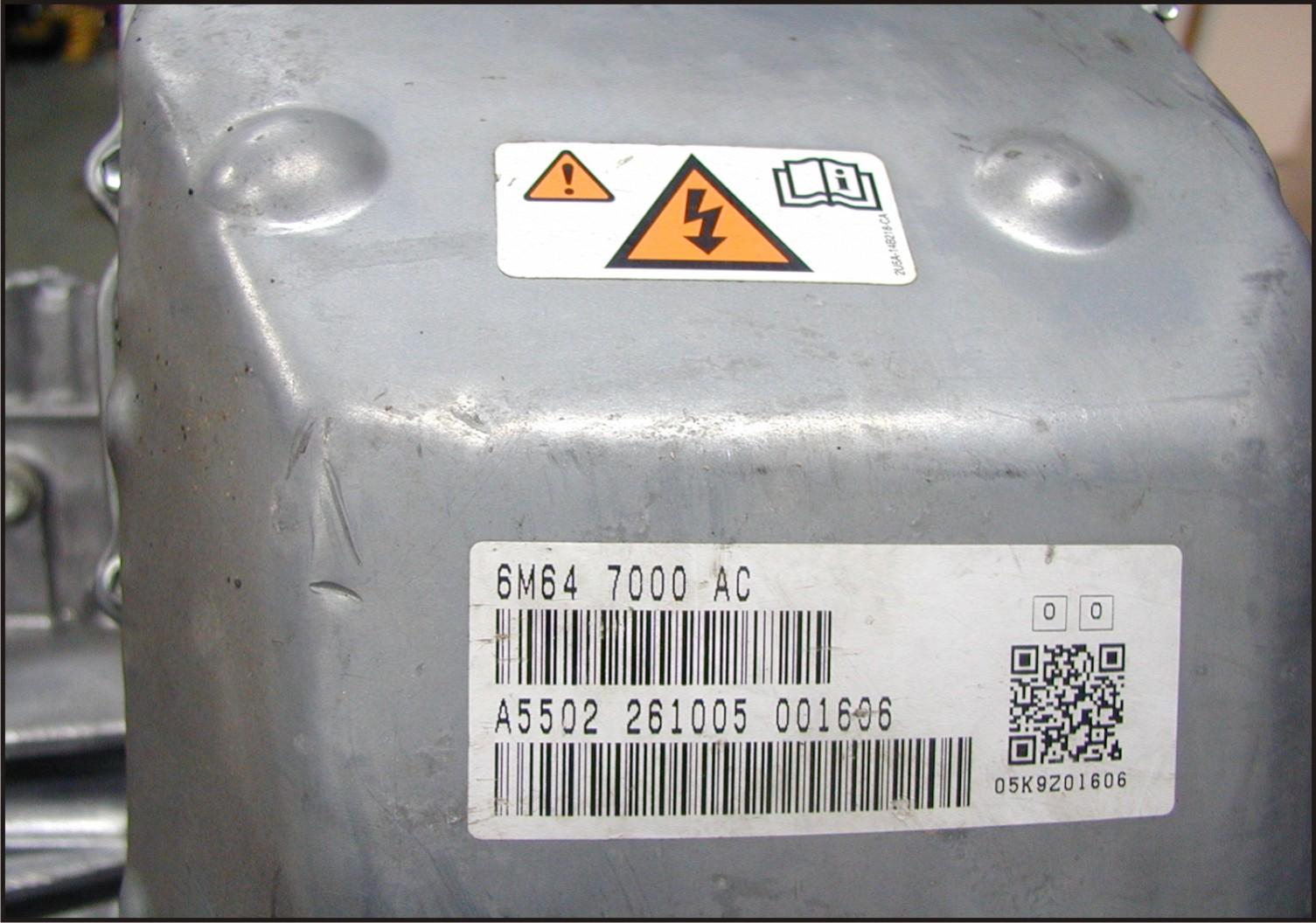 ATSG Ford Escape Hybrid Preliminary Information - Figure 18
