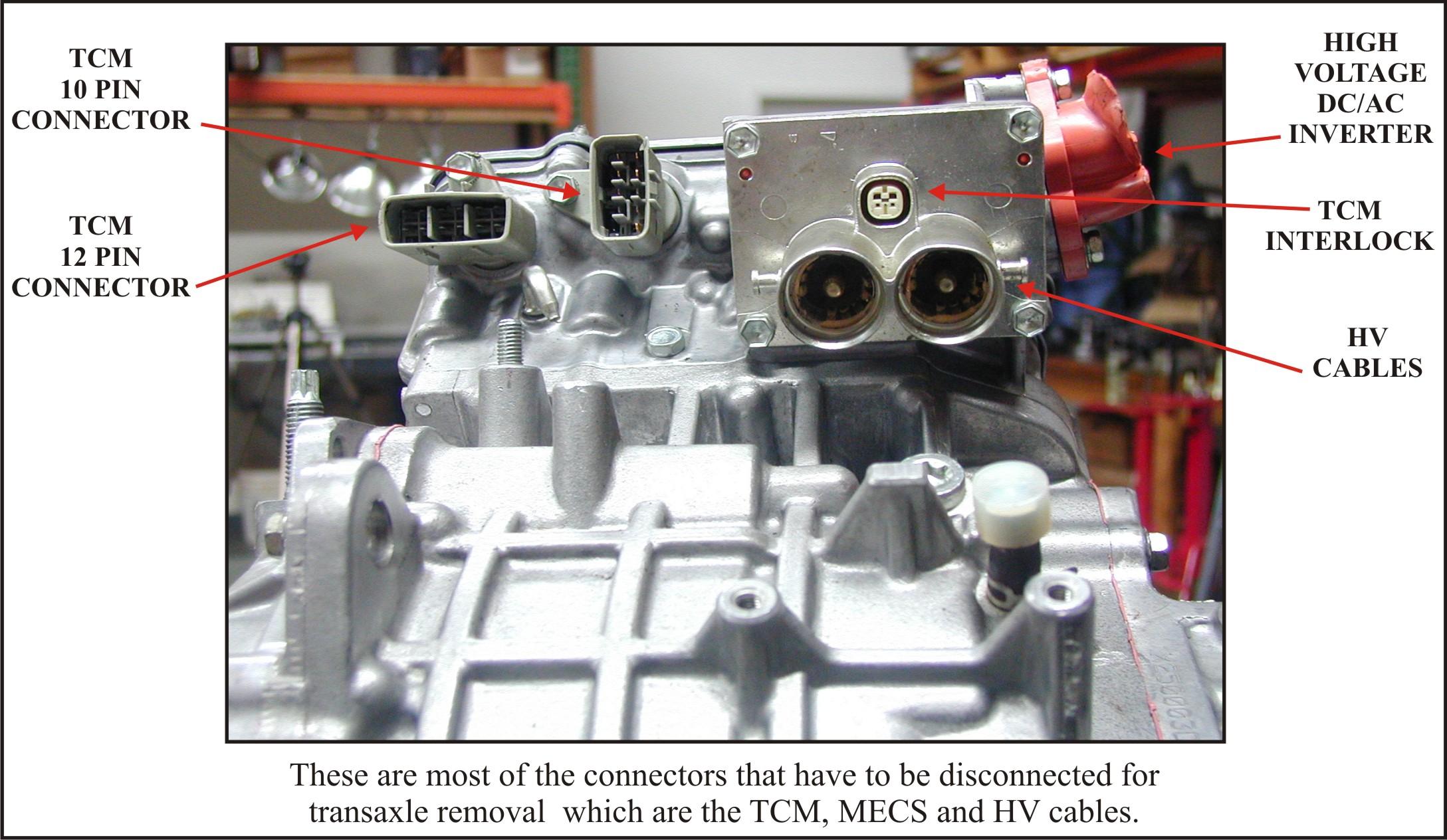 ATSG Ford Escape Hybrid Preliminary Information - Figure 19