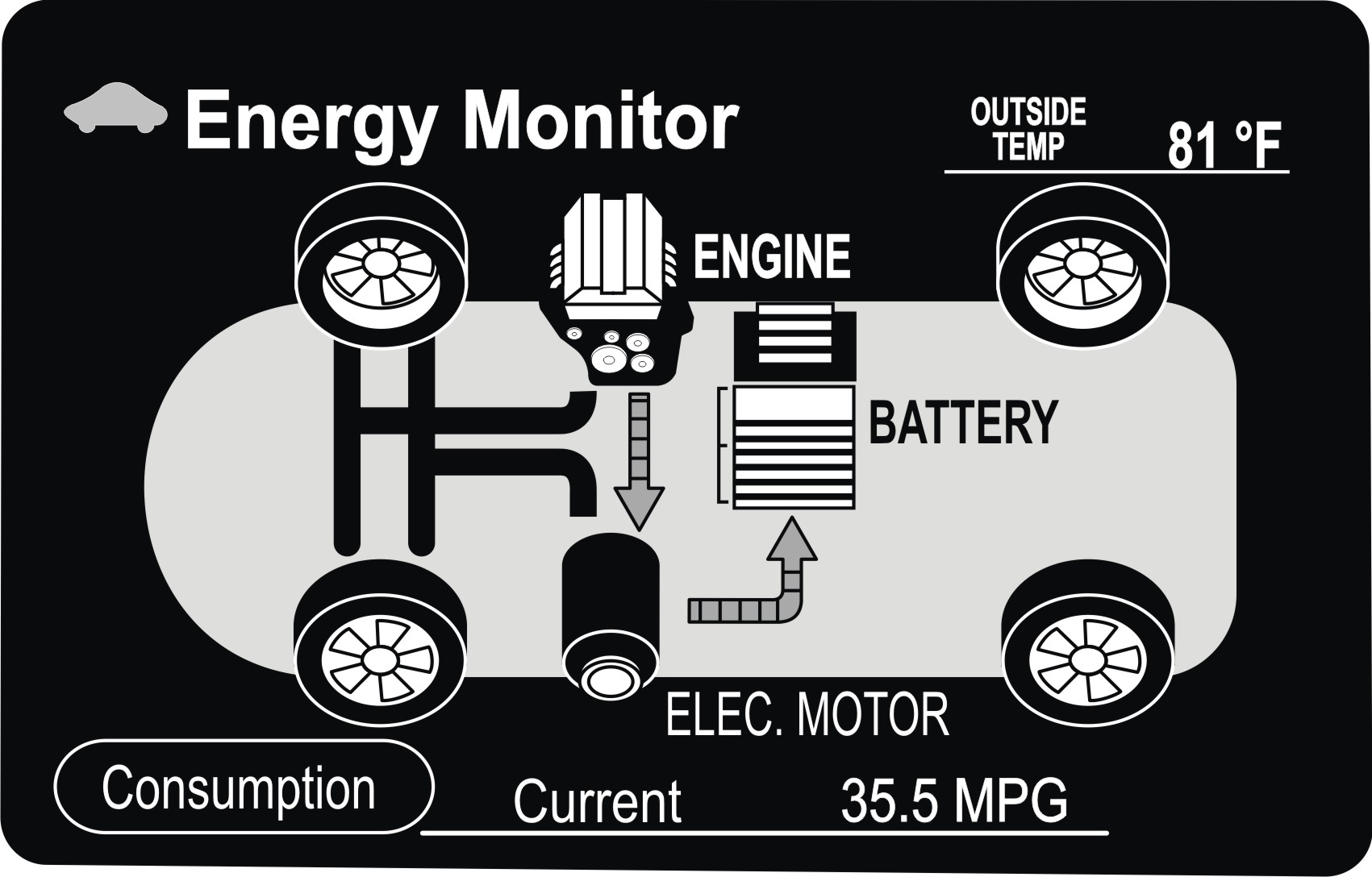 ATSG Ford Escape Hybrid - Torque Monitor Information Fig. 7