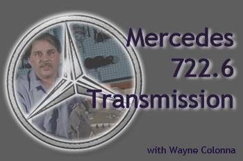 ATSG MERCEDES 722-6 TRANSMISSION