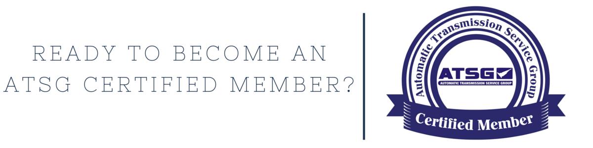 ATSG Certified Member