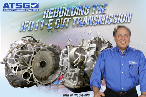 Rebuilding The JF011E CVT Transmission - Wayne Colonna