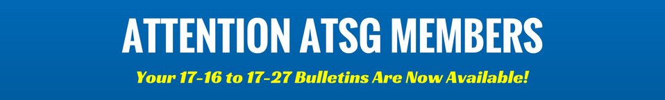 ATSG 2nd Quarter Bulletins Are Available