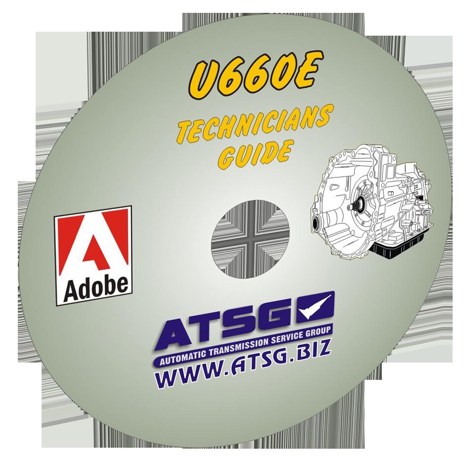 ATSG Toyota U660E Mini CD